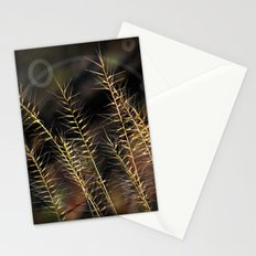 Grass Of Circles Stationery Cards