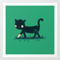 Make Your Own Luck Art Print