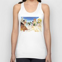 bleach Tank Tops featuring Bleach on the Beach by Borsalino