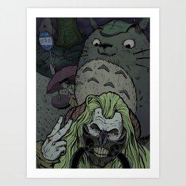 Shiny and crossover Art Print