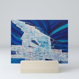 Spaceship Mini Art Print