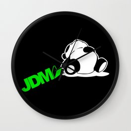 Sleepy Panda JDM Wall Clock