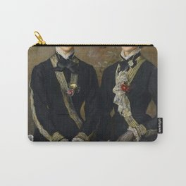 John Everett Millais - The Twins, Kate and Grace Hoare Carry-All Pouch
