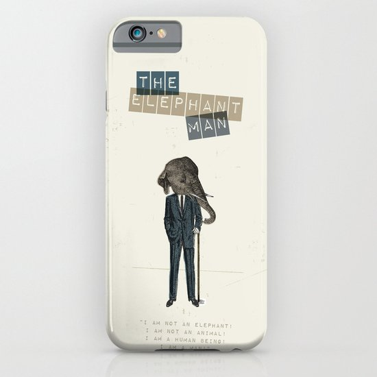 The elephant man iPhone & iPod Case