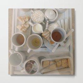 Teatime Splendor Metal Print
