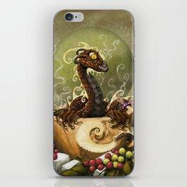 Coffee Dragon iPhone Skin