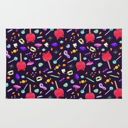 Halloween Candy Pattern Rug