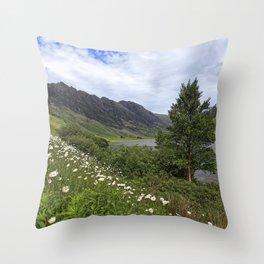 Glen Coe, Scottish Highlands Throw Pillow
