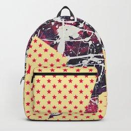 Hopkin's Bedtime - Orange Star Backpack