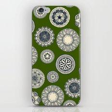 mandala cirque spot green iPhone & iPod Skin