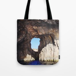 Hole in a Cave Tote Bag