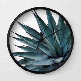 Agave Vivid Vibes #1 #tropical #decor #art #society6 Wall Clock
