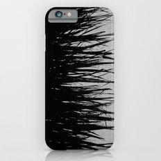Concrete Fringe Black on Side iPhone 6s Slim Case