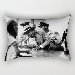 Remembering African American History & Martin Luther King Racial Injustice photograph - photography Rectangular Pillow
