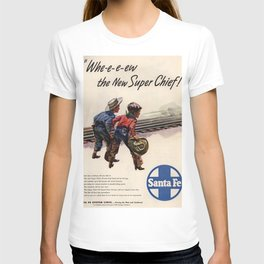 Vintage poster - Super Chief T-shirt