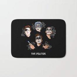 The Doctor who face painting iPhone 4 4s 5 5c 6 7, pillow case, mugs and tshirt Bath Mat