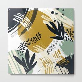 Nature brush strokes II Metal Print