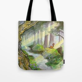 Forest of Ithilien Tote Bag