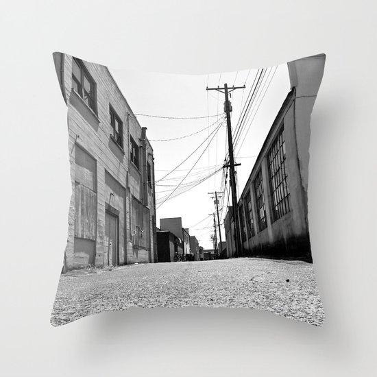 South Tacoma Alley Throw Pillow