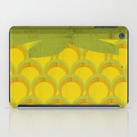 pineapple iPad Cases featuring Pineapple by Kakel