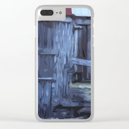 ST. Maarten Store Front Clear iPhone Case
