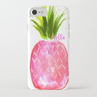 pineapples iPhone & iPod Cases featuring Pineapples  by Melanie Dorsey Designs