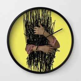 embrace chaos Wall Clock