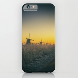 Sunrise at Kinderdijk III iPhone Case