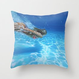 Sea pleasure Throw Pillow