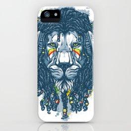 Lion with Dreadlocks iPhone Case