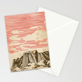 Carpathian mountains Stationery Cards