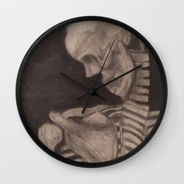 Live, but not alive, drawing Wall Clock