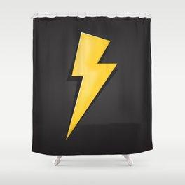 Lighting Bolt  Shower Curtain