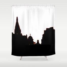 London Skyline bywhacky Shower Curtain
