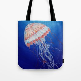 Jellyfish  Oil Painting by Faye Tote Bag