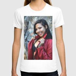Young Hispanic Woman T-shirt