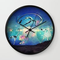 ballet Wall Clocks featuring Ballet by Cs025