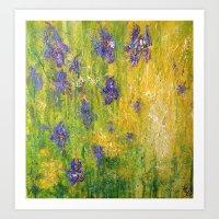 The Water meadow Art Print