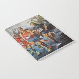Runners. Notebook