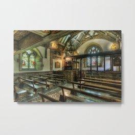 The Hidden Chapel Metal Print