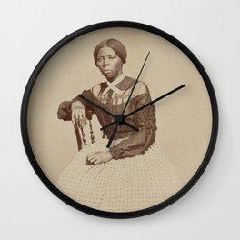 Harriet Tubman Vintage Photograph Wall Clock