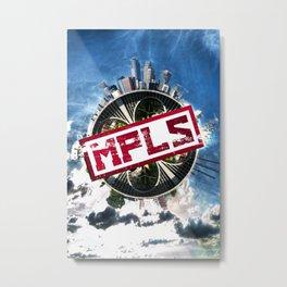 The MPLS Metal Print