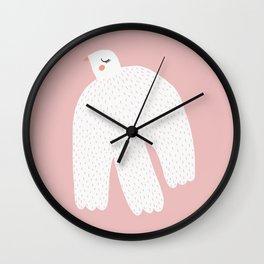 White Dove Wall Clock
