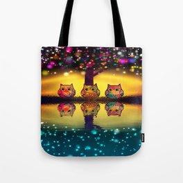 owl-202 Tote Bag
