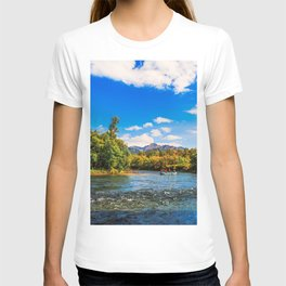 Rafting along the Bystraya (Fast) river, Kamchatka T-shirt