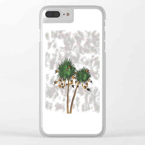 tree1 Clear iPhone Case