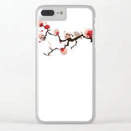 China Blossom Clear iPhone Case