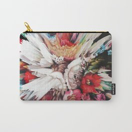 Floral Glitch II Carry-All Pouch