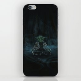 Meditation On Dagobah iPhone Skin