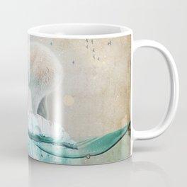 Polar Bear Adrift Coffee Mug
